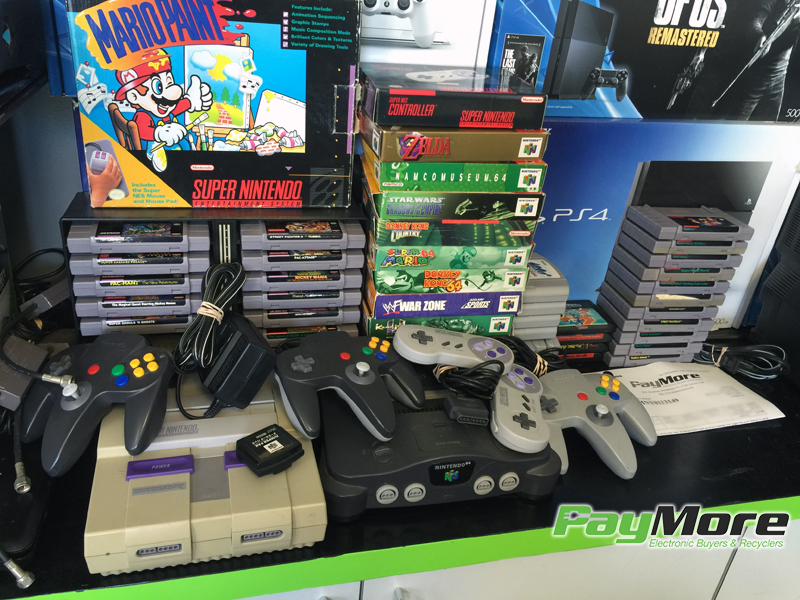 Game system trade in for cash